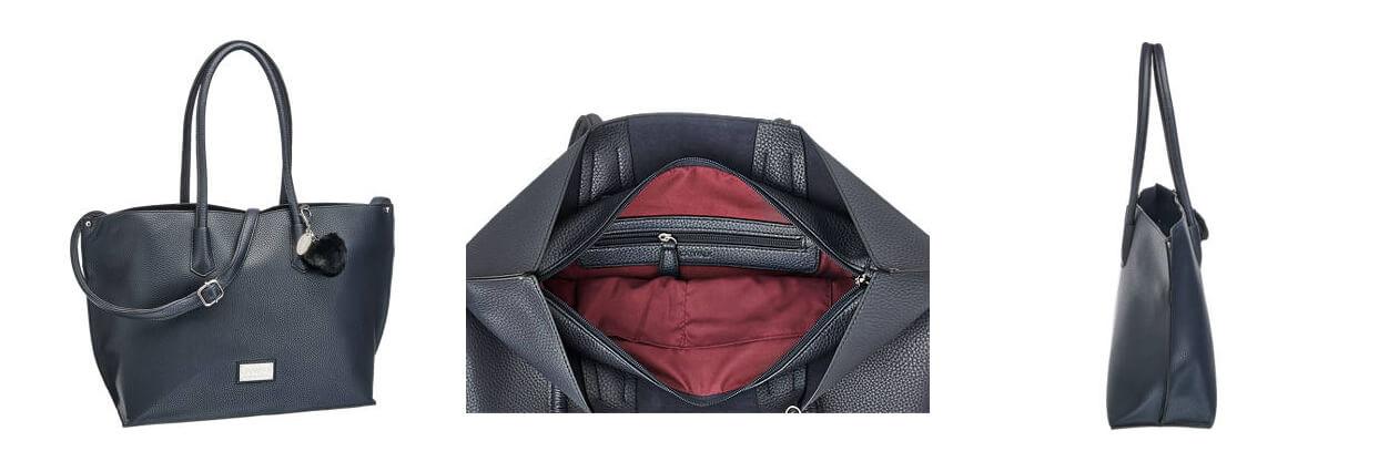 Praktická kabelka z brúsenej kože značky 5th Avenue je ďalším nestarnúcim  módnym doplnkom afc6d4c4bd2
